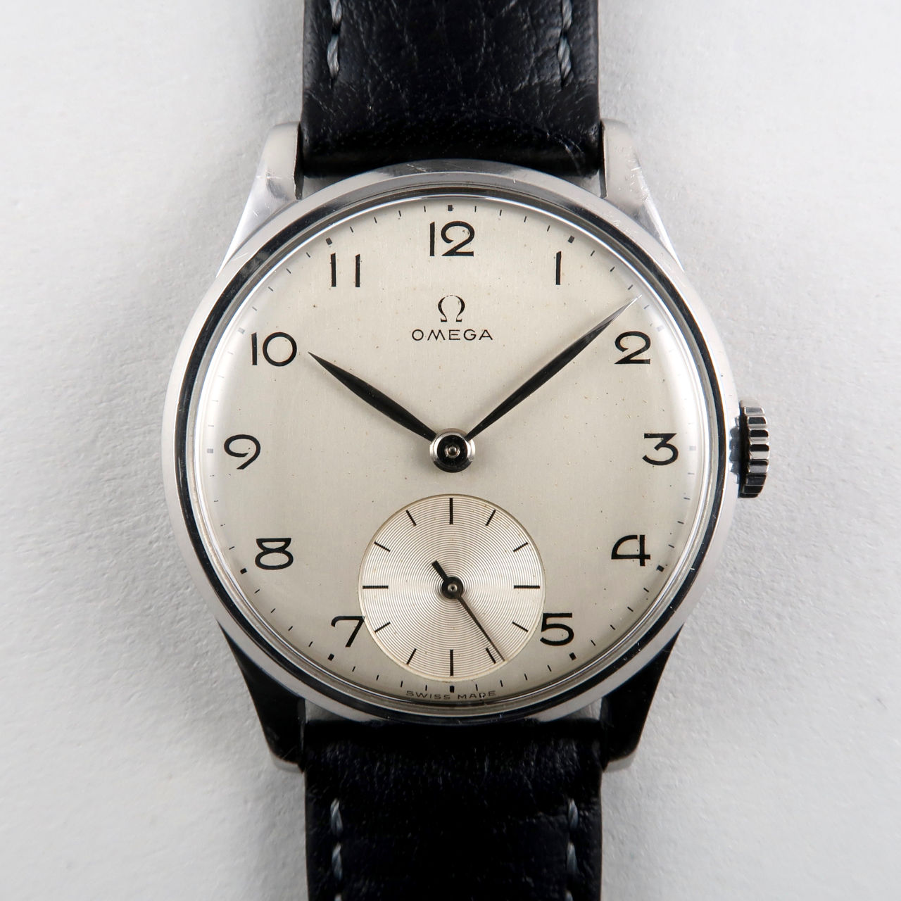 Omega Ref. 720 circa 1950 | steel manual vintage wristwatch