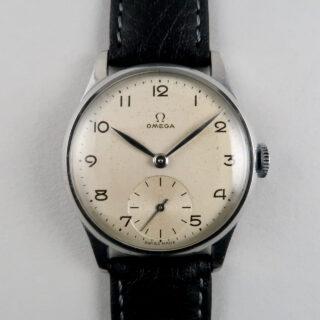 Omega Ref. 720 steel vintage wristwatch, circa 1950