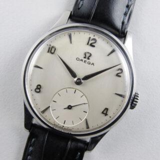 Omega Ref. 720 steel vintage wristwatch, circa 1953