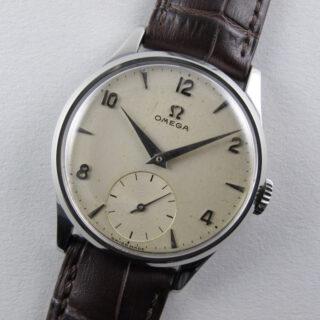Omega Ref. 720 steel vintage wristwatch, circa 1954