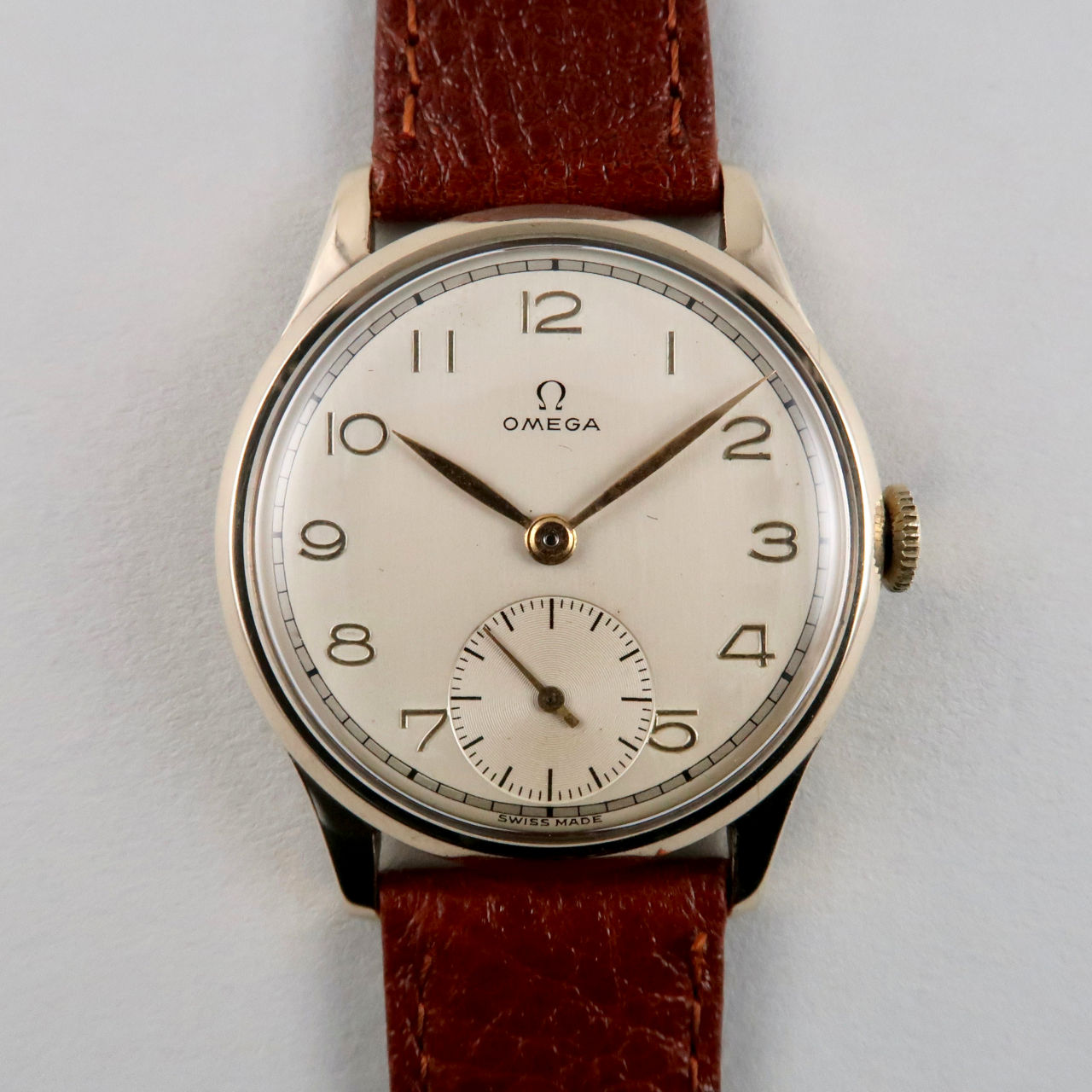 Omega Ref. 920 vintage wristwatch hallmarked 1947