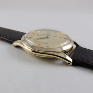 Omega Ref.921 hallmarked 1959   9ct gold manual vintage wristwatch