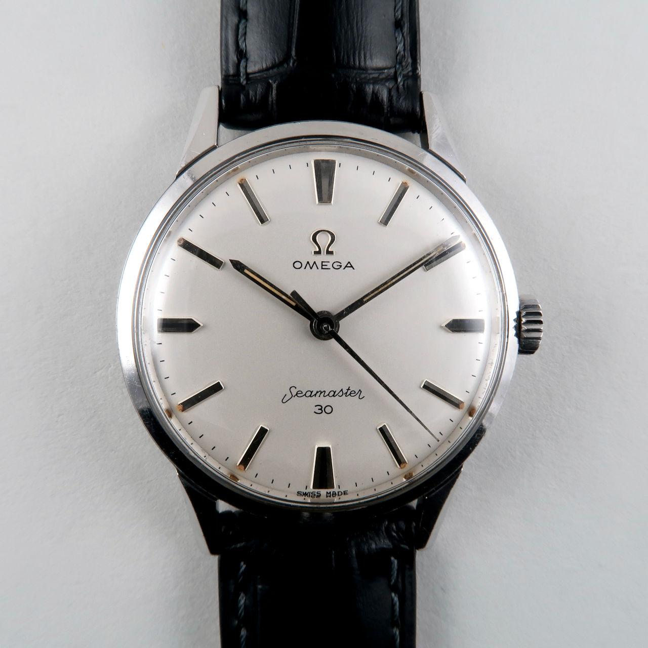 Omega Seamaster 30 Ref. 135.003 -62 circa 1963   steel hand wound vintage wristwatch