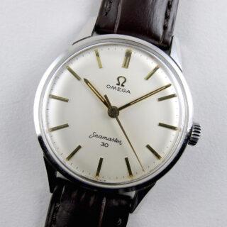 Omega Seamaster 30 Ref. 135.003 -62 steel vintage wristwatch, circa 1963