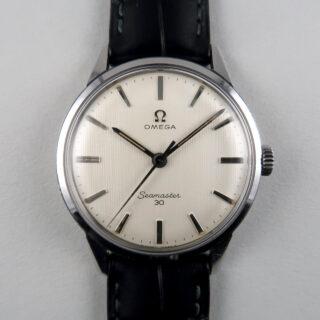 Omega Seamaster 30 Ref. 135.007 -63 steel vintage wristwatch, circa 1964