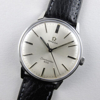 Omega Seamaster 600 Ref. 135.00011 steel vintage wristwatch, circa 1967