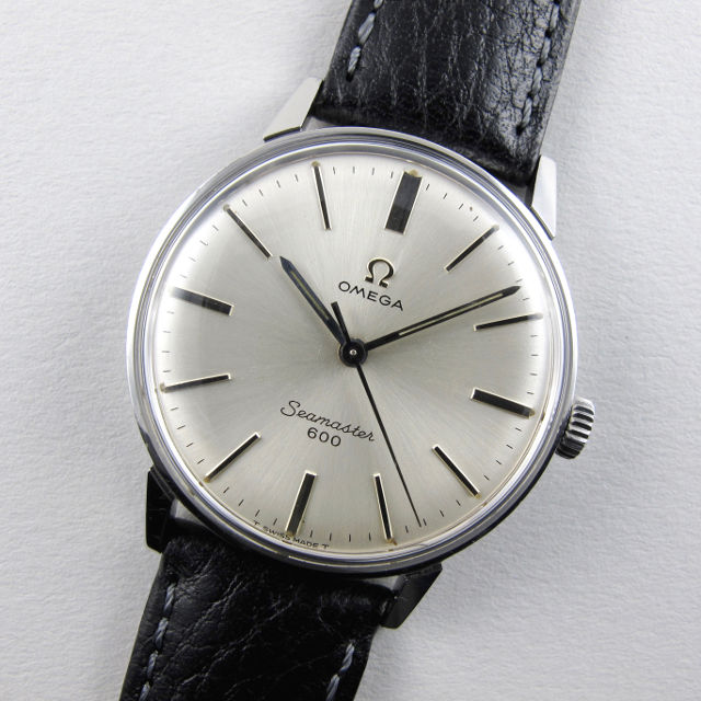 6a538fc941a Read more · Omega Seamaster 600 Ref. 135.00011 steel vintage wristwatch