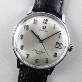 Omega Seamaster 600 Ref. 136.011 steel vintage wristwatch, circa 1964