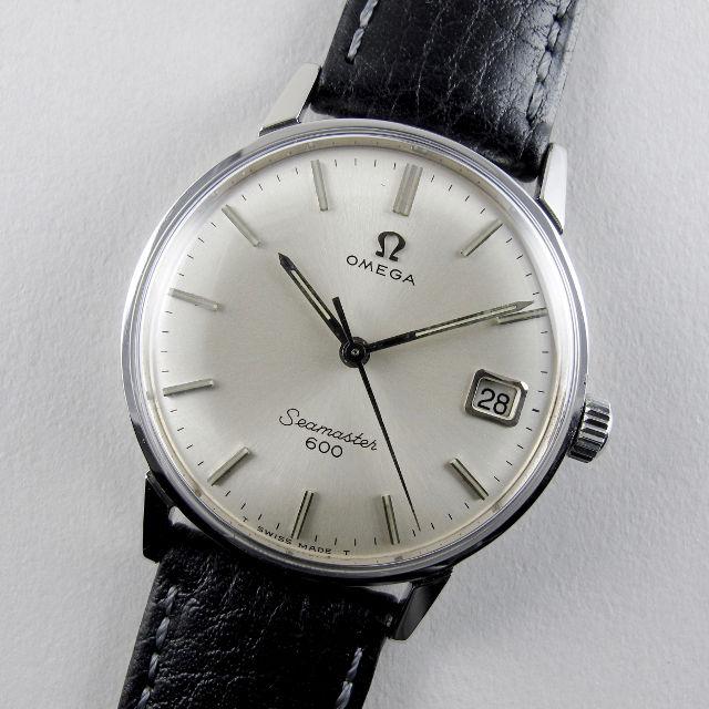 Omega Seamaster 600 Ref. 136.011 steel vintage wristwatch, circa 1966