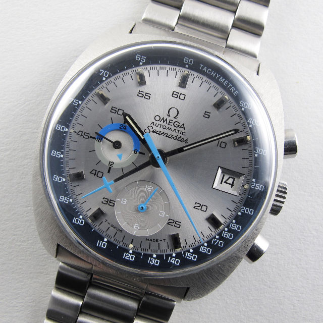 ba89eb0537c Opening this week s newsletter is an Omega Seamaster chronograph Ref.  176.007. This model was released by Omega in 1972 and features a stylish  light grey ...
