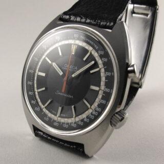 Steel Omega Seamaster Chronostop Ref. 145.007 vintage wristwatch, circa 1968