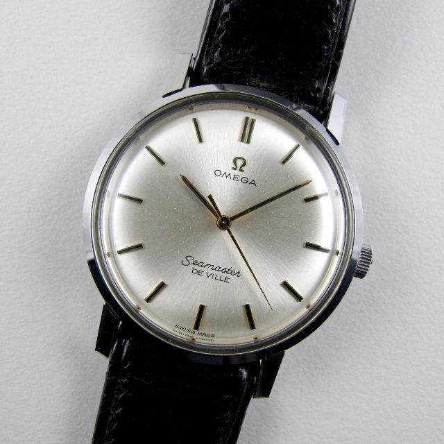 Omega Seamaster de Ville, Ref. 135.001 steel vintage wristwatch, circa 1967