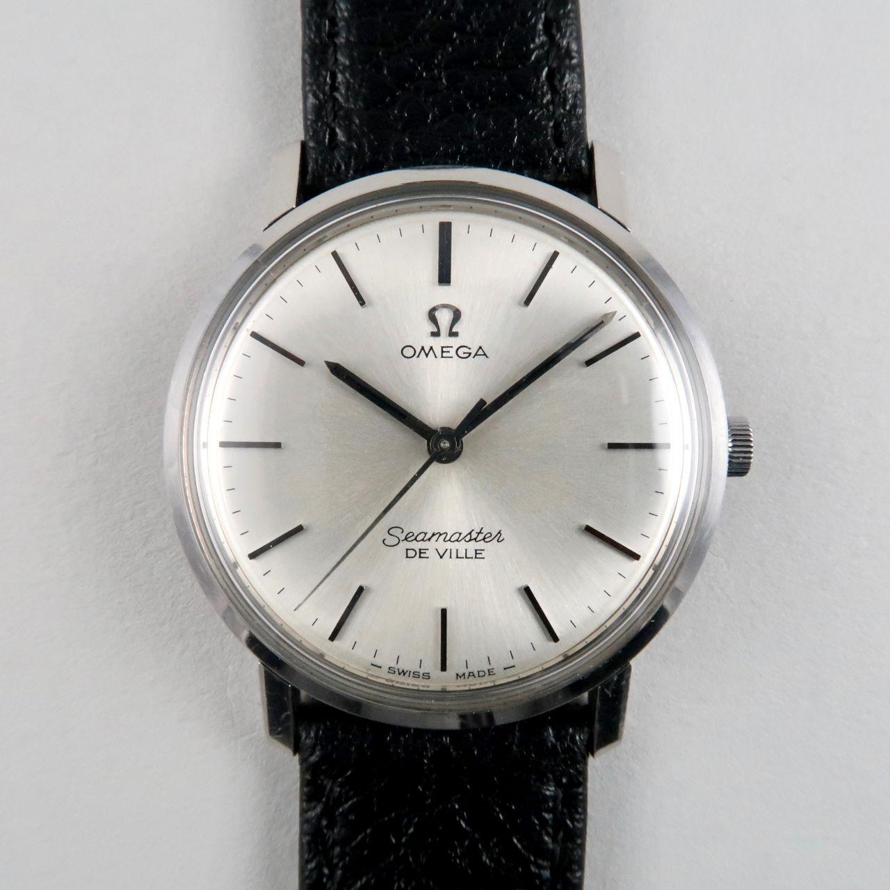 Omega Seamaster de Ville Ref. 135.010 vintage wristwatch, circa 1965