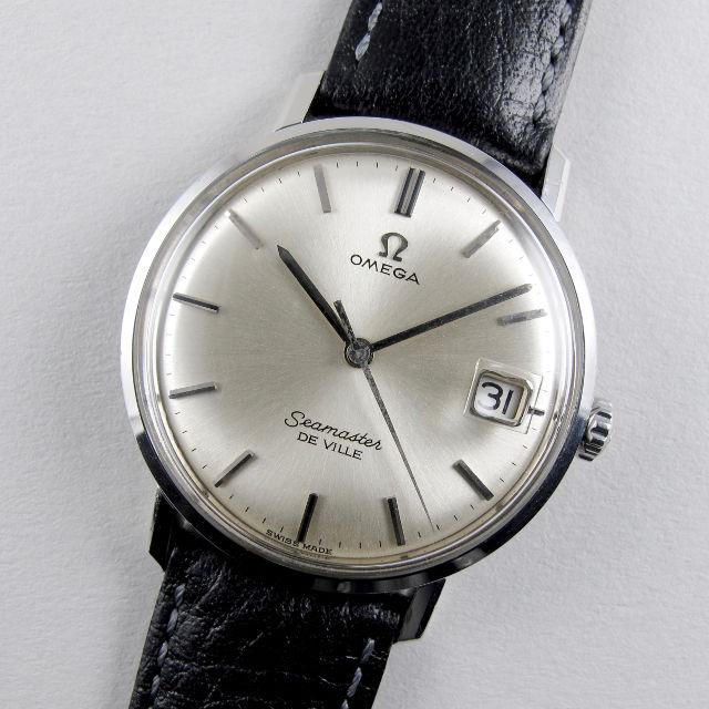 Omega Seamaster de Ville Ref. 136.020 steel vintage wristwatch, circa 1963