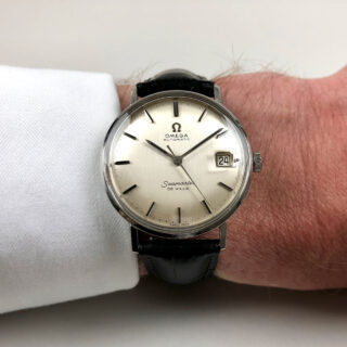 Omega Seamaster de Ville Ref. 14770 circa 1961 | steel automatic vintage wristwatch with magnified date