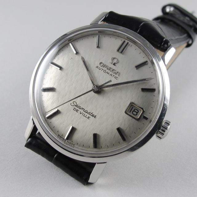 182b3dc55e263 Home Watches Sold Watches Steel Omega Seamaster de Ville