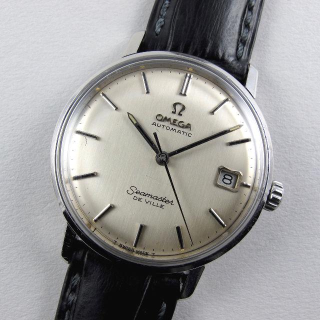 Omega Seamaster de Ville Ref. 166.020 steel vintage wristwatch, circa 1967