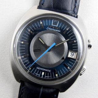 Omega Seamaster Memomatic Ref. 166.072 vintage wristwatch, circa 1971