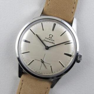 Omega Seamaster Ref. 14389 -62 steel vintage wristwatch, circa 1961