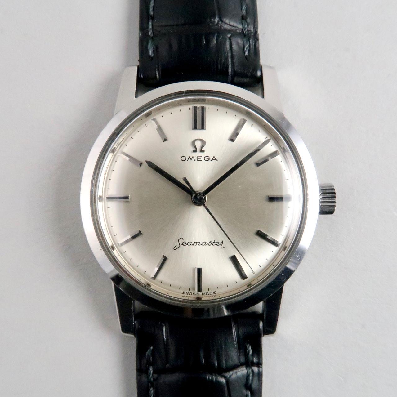 Omega Seamaster Ref. 14759 SC -62 steel vintage wristwatch, circa 1962