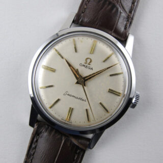 Omega Seamaster Ref. 14759 steel vintage wristwatch, circa 1961