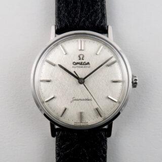 Omega Seamaster Ref. 14765 steel vintage wristwatch, circa 1961