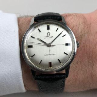 Omega Seamaster Ref.165.002 steel vintage wristwatch, circa 1967