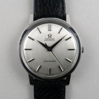 Omega Seamaster Ref. 165.003 steel vintage wristwatch circa 1966