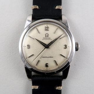 Omega Seamaster Ref. 165.009 steel vintage wristwatch, circa 1962