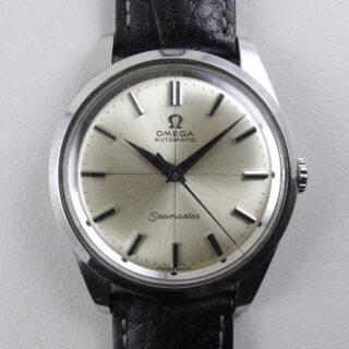 Omega Seamaster Ref. 165.010 steel vintage wristwatch, circa 1967