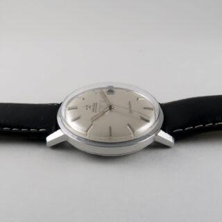 Omega Seamaster Ref. 166.001 retailed by Türler, steel vintage wristwatch, circa 1963