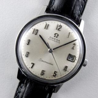 Omega Seamaster Ref. 166.003 steel vintage wristwatch, circa 1964
