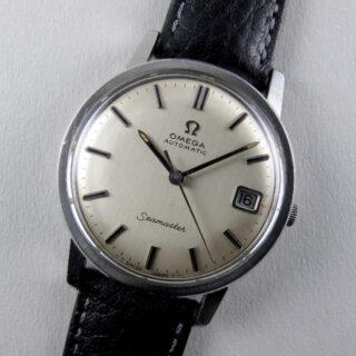 Omega Seamaster Ref. 166.003 steel vintage wristwatch, circa 1968