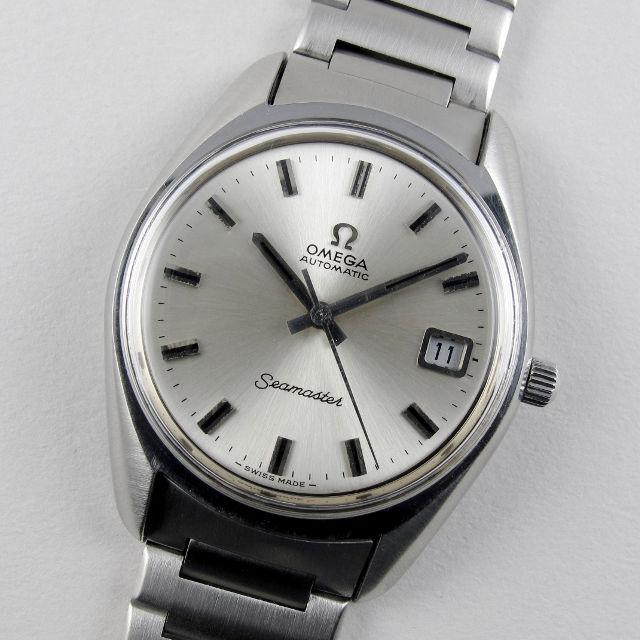 Omega Seamaster Ref. 166.0167 steel vintage wristwatch, circa 1973