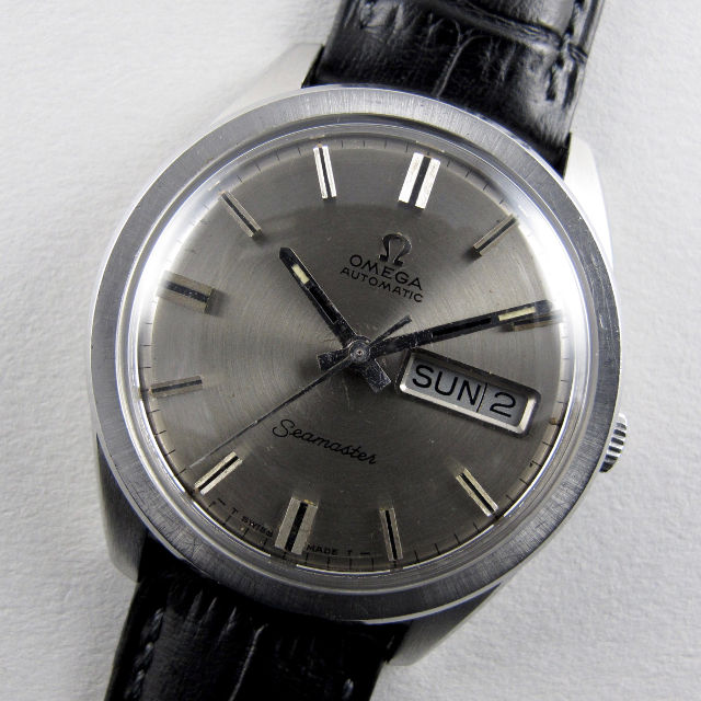 Omega Seamaster Ref. 166.032 steel vintage wristwatch, circa 1967