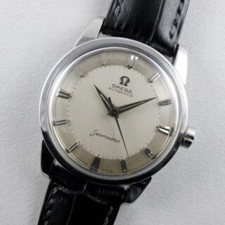 Omega Seamaster Ref. 2846 /14 steel vintage wristwatch, circa 1958