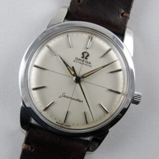 Omega Seamaster Ref. 2846 /15 steel vintage wristwatch, circa 1958