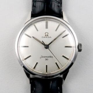 Steel Omega Seamaster 30 Ref. 135.003 -62 vintage wristwatch, circa 1962