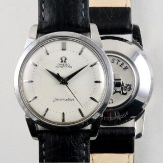Omega Semaster 'Big Logo' Ref.2846 steel vintage wristwatch, circa 1957