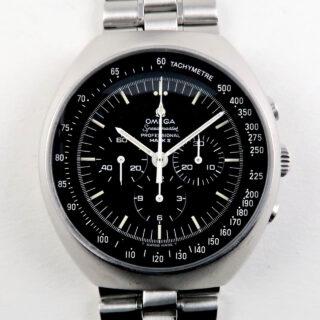 Omega Speedmaster Mark II Ref. 145.014 steel vintage chronograph wristwatch, circa 1969