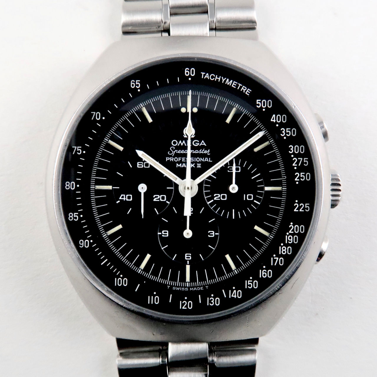 Omega Speedmaster Mark II Ref. 145.014 steel vintage chronograph wristwatch, circa 1969