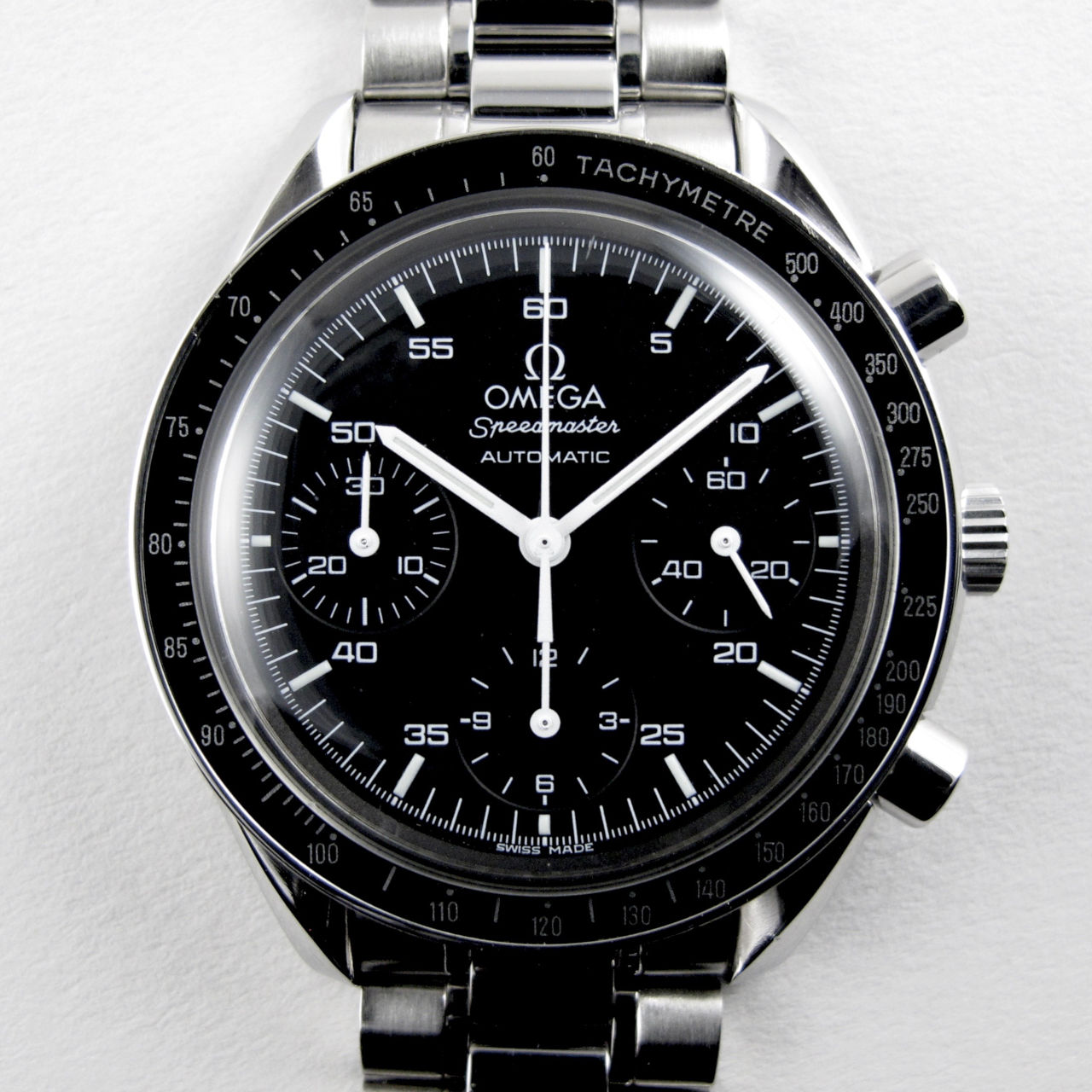 Omega Speedmaster Reduced Ref.3510.50.00 steel chronograph, circa 1999