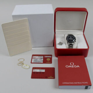 "Omega Speedmaster Professional Ref. 3570.5000 ""Full Set"" steel chronograph wristwatch, sold in 2013"