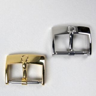 Omega wristwatch strap buckles