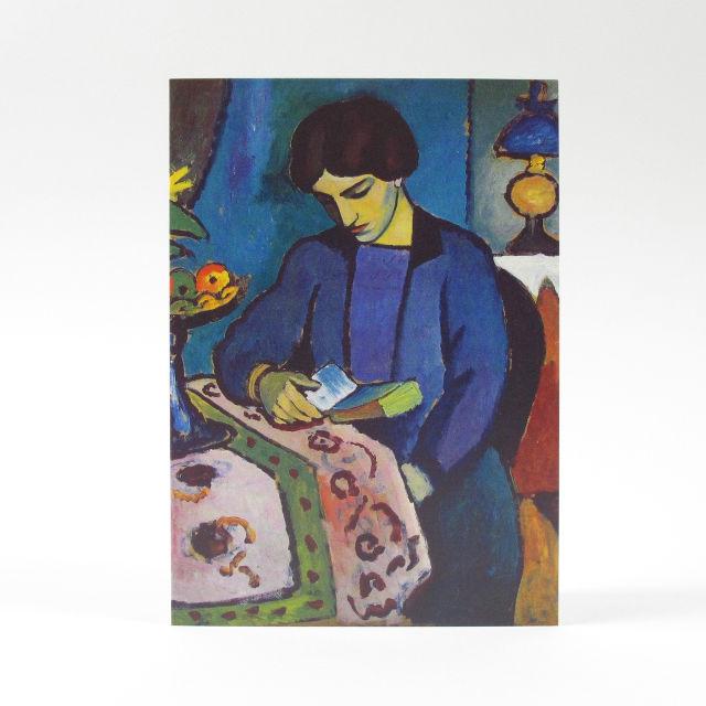 August Macke Greetings Card from Orwell Press