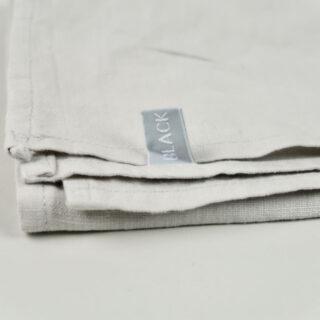 Pale Grey 100% Linen Napkin - Handmade in Ludlow