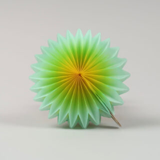 Paper Rainbow Mini Fans - Pack of 6
