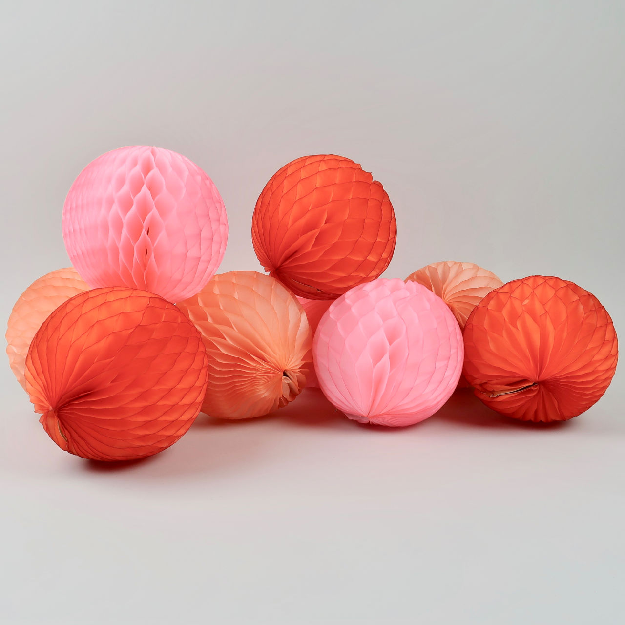 Honeycomb Paper Ball - 15cm Diameter - Pack of 3