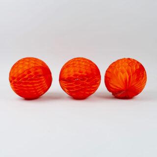 Honeycomb Paper Ball - 15cm Diameter - Pack of 3