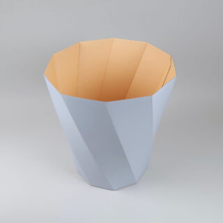 Paper Paper Bin - Light Grey